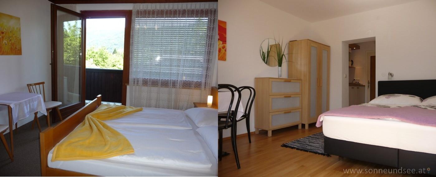 Appartements und Zimmer