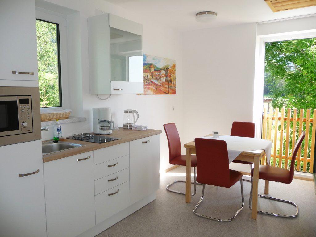 Wohnküche von Appartement 4