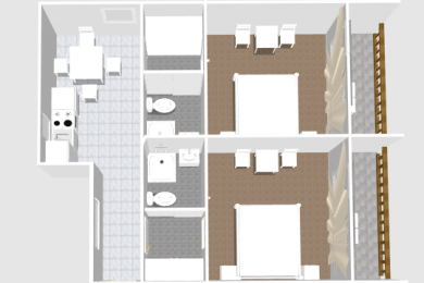 Appartement 4 Plan