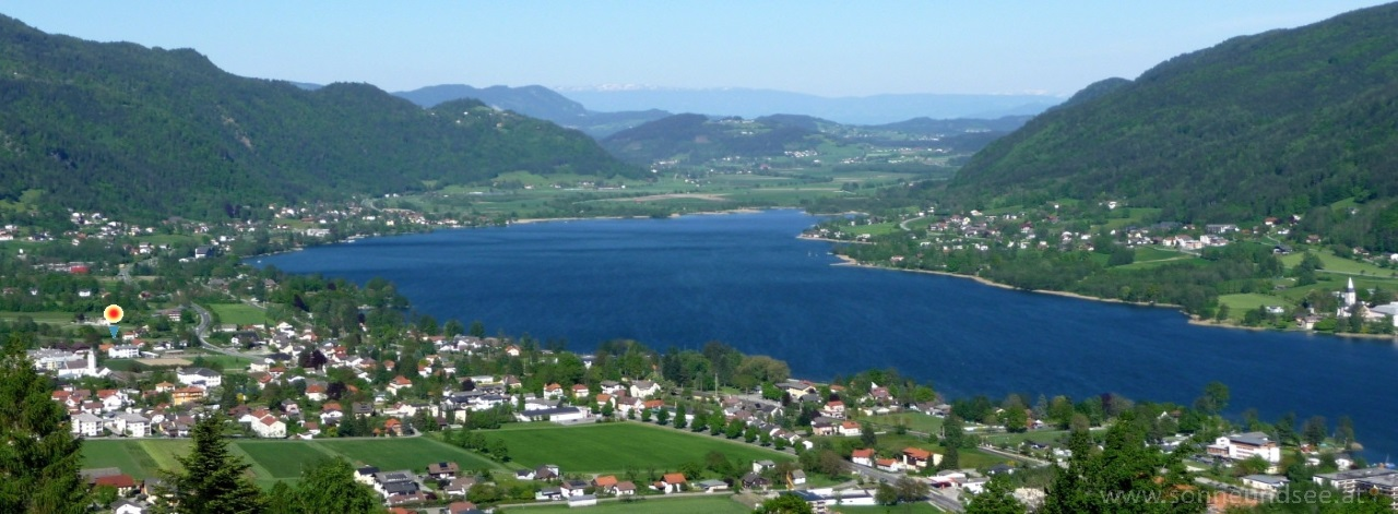Ossiacher See von der Gerlitzen