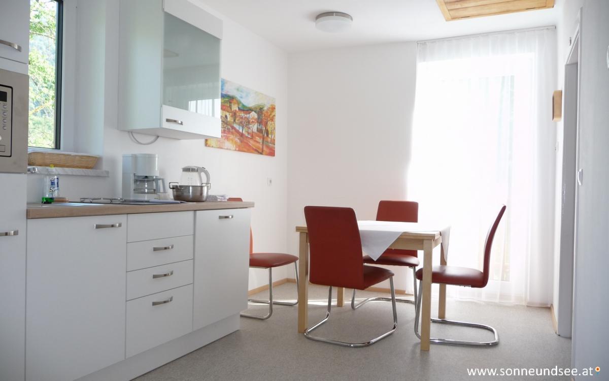 Küche, Appartement 4