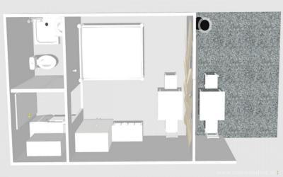 Grundriss von  Appartement 1